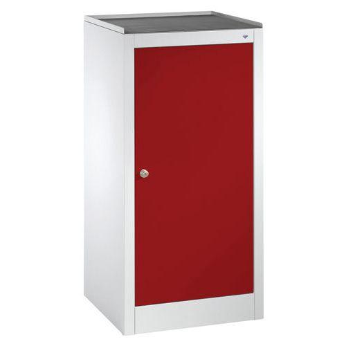 armoire d 39 appoint avec tiroir et serrure cylindre. Black Bedroom Furniture Sets. Home Design Ideas
