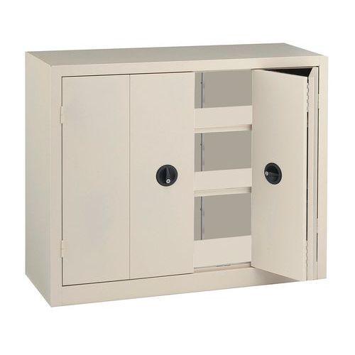 armoire portes pliantes en kit basse largeur 120 cm. Black Bedroom Furniture Sets. Home Design Ideas