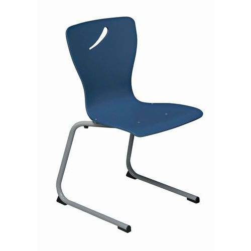 chaise coque blue - Chaise Coque