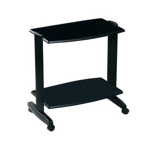 Table de bureau mobile Evolution 2 - 2 plateaux