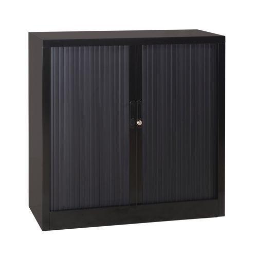 armoire basse rideaux en kit largeur 120 cm. Black Bedroom Furniture Sets. Home Design Ideas