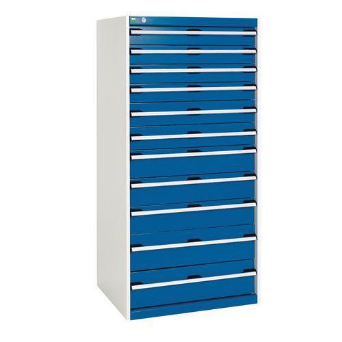 armoire d 39 atelier tiroirs bott sl 86 hauteur 160 cm. Black Bedroom Furniture Sets. Home Design Ideas