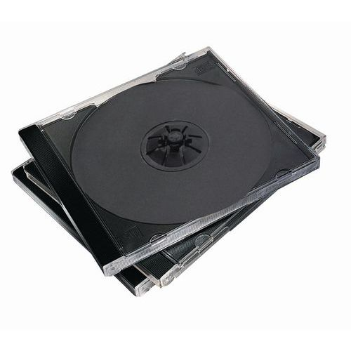 Boîtier CD/DVD standard vierge - Fellowes