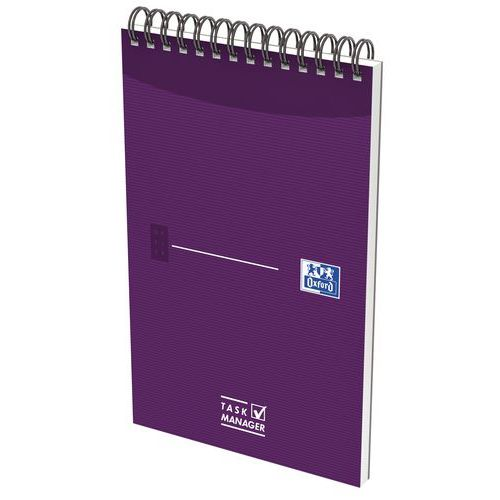 Bloc note Task Manager Oxford 125X200 140P 90G LIG