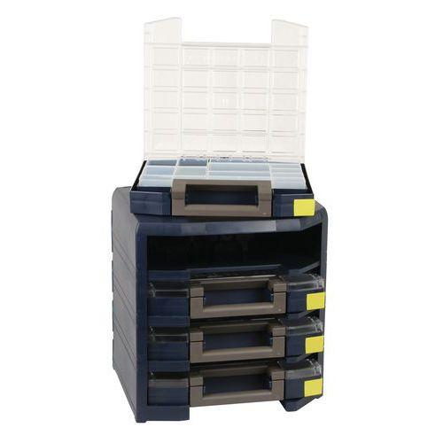 Caisson transportable HANDY Boxxser® - 4 mallettes
