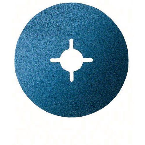 Bosch 50 Disques Abrasifs Sur Fibres, R574, Best For Metal – En 13743
