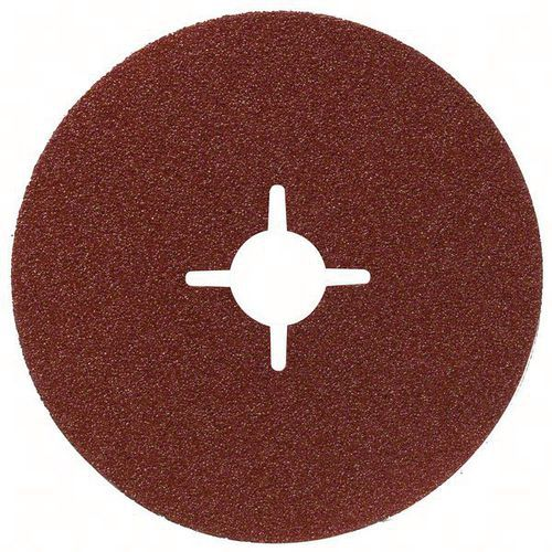 Bosch 50 Disques Abrasifs Sur Fibres, R444, Expert For Metal – En 13743