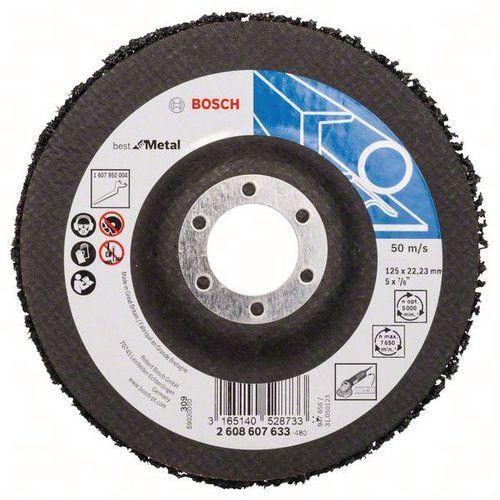 Bosch 5 Disques De Nettoyage, N377, Best For Metal, 50 M/s