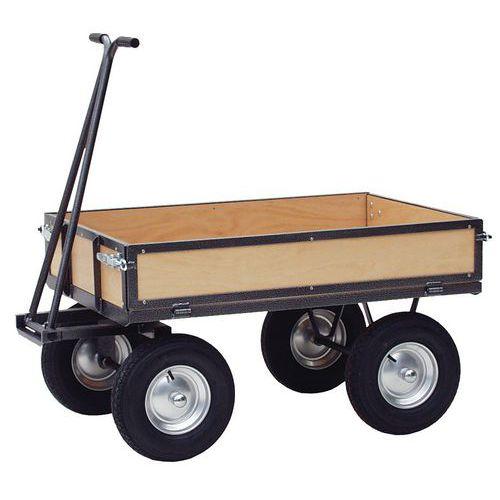 remorque parois bois force 750 kg plateau 800 x 1200 mm ma. Black Bedroom Furniture Sets. Home Design Ideas