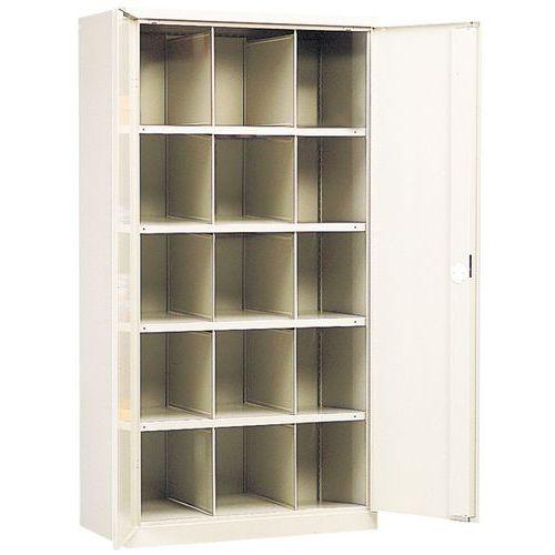 armoire porte battante 1000 15 compartiments. Black Bedroom Furniture Sets. Home Design Ideas