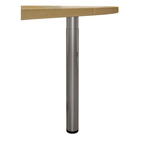 Angle de liaison 90° Pure - Piètements fixes - Hêtre/Aluminium