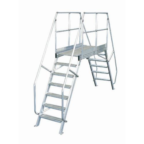 Passerelle mobile inclinaison 45° - Largeur 800 mm