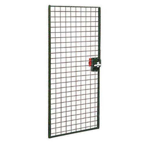Porte pour cloisons grillagées