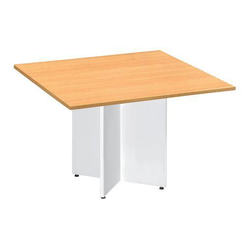 Extension rectangulaire  pour table modulaire ovale - Pied en croix