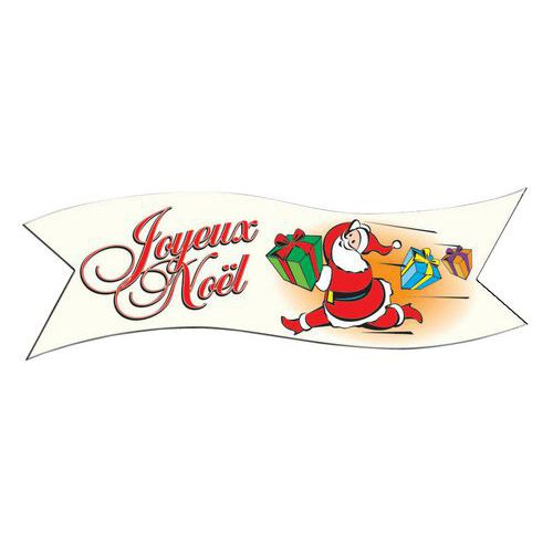 Décor comestible Joyeux Noël