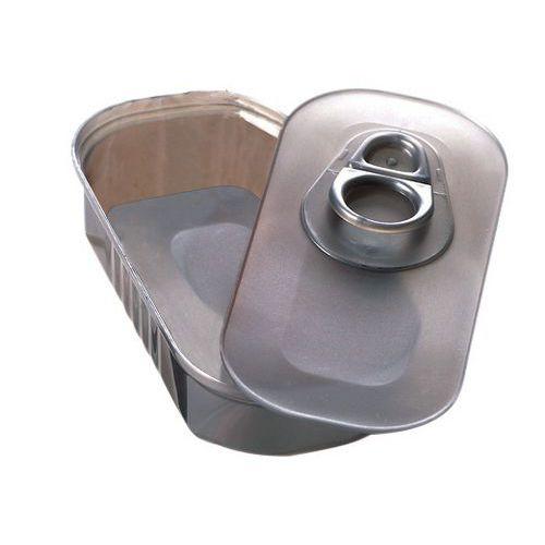 Boîte à sardines grise