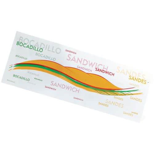 Sachets Sandwichs imprimés décor exclusif