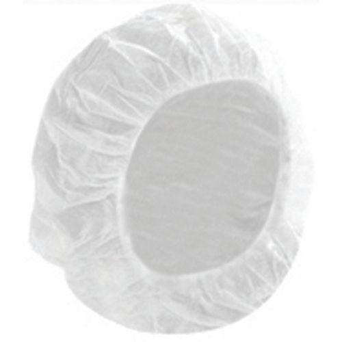Charlotte de travail jetable blanche - Boîte de 100