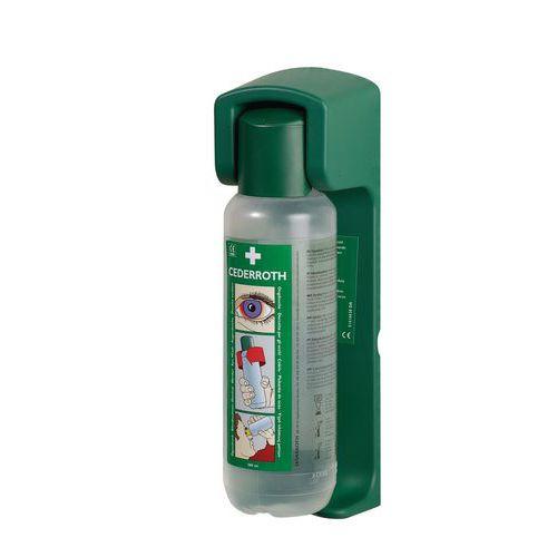 Flacons de douche oculaire avec support Cederroth