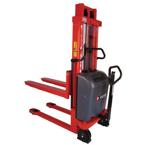 Gerbeur ergonomique semi-électrique Logitrans - Capacité 1000 kg