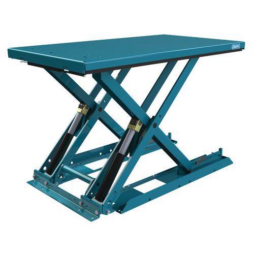 Table élévatrice ergonomique fixe extraplate MX-10 - Capacité 1000 kg