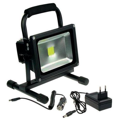projecteur de chantier rechargeable led 20w. Black Bedroom Furniture Sets. Home Design Ideas