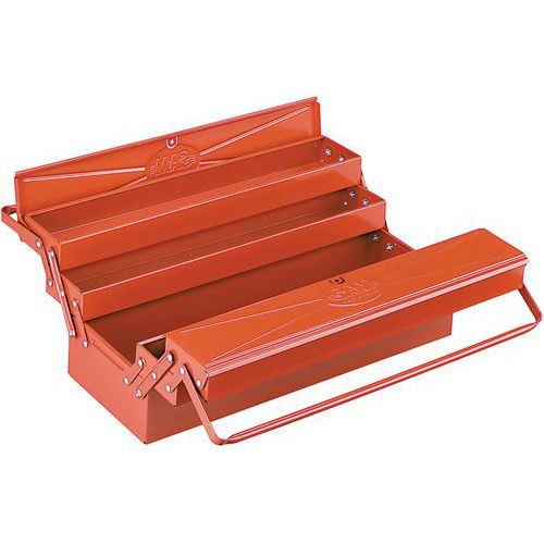 Boîte à outils métallique 5 cases _ SAM-594-SBV