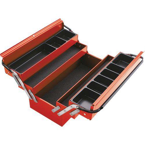 Boîte à outils métallique 5 cases _ SAM-590-PBV