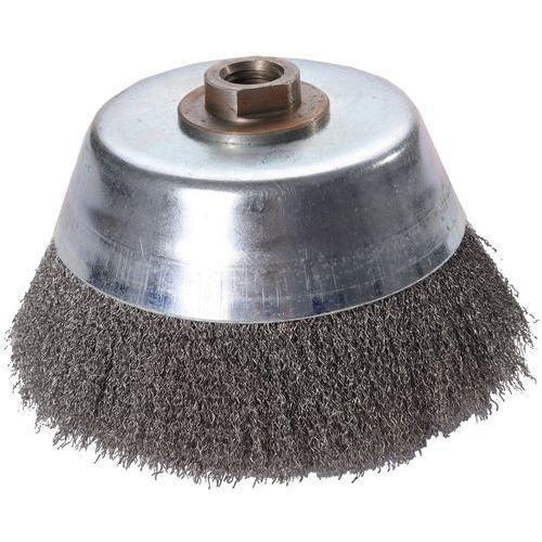 Brosse coupe 150mm fil acier 0,2mm