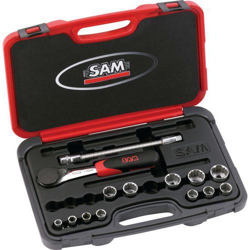 Coffret 3/8 14 outils en mm