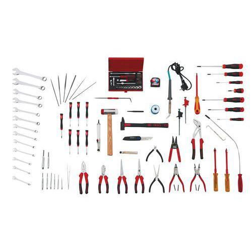 Composition de 104 outils de maintenance bureautique