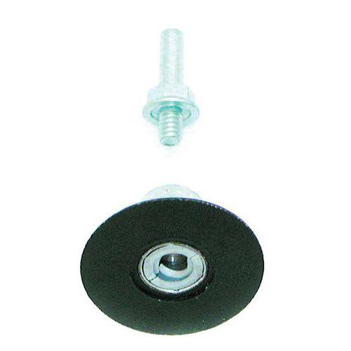 Plateaux support sur tige ø 6mm, accrochage à vis rolloc