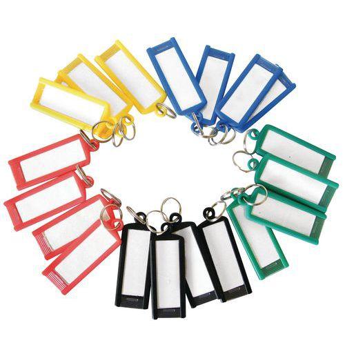 Porte clef avec anneau - Assorti