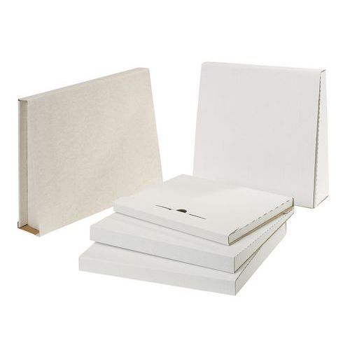 bo te d 39 exp dition pour classeur blanc. Black Bedroom Furniture Sets. Home Design Ideas