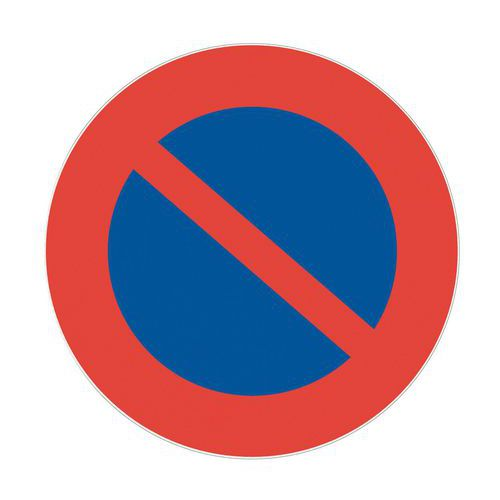 panneau d 39 interdiction stationnement interdit rigide. Black Bedroom Furniture Sets. Home Design Ideas