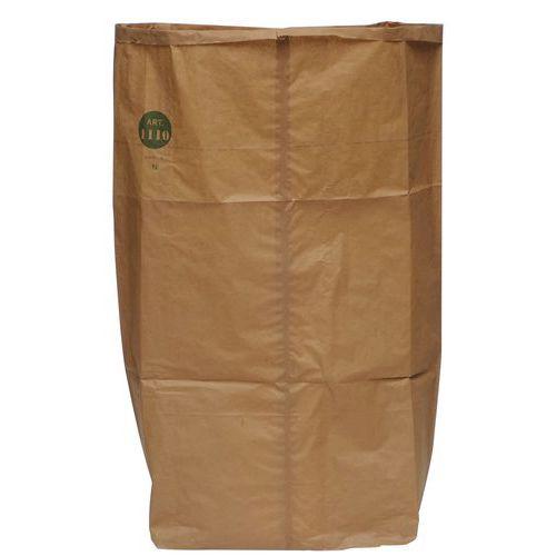 Sac-poubelle en papier biodégradable - Déchets vert - 70 à 140 L