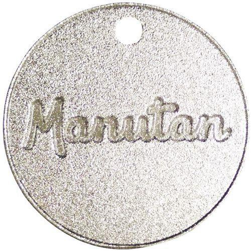 Jeton numéroté de 301 à 1000 - Aluminium 30 mm - 100 pièces - Manutan