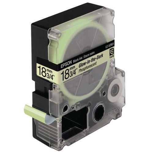 Cassette ruban Epson LK-5ZBU phosphorescent