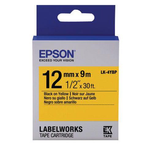 Cassette ruban Epson LK-4YBP pastel