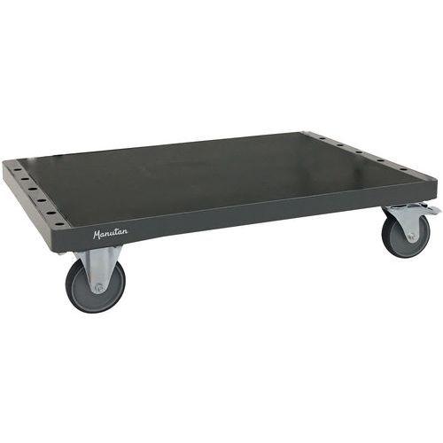 Chariot porte-panneaux sans ridelles - Capacité 500 kg - Manutan