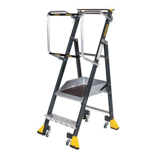 Plate-forme industrielle roulante ergonomique Stepper