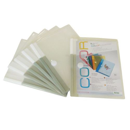 Enveloppes A5 COLOR Tcollection
