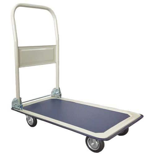 Chariot dossier rabattable - Capacités 150 et 300 kg - Manutan