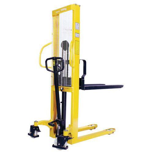 Gerbeur hydraulique - Capacité 1000 kg - Manutan