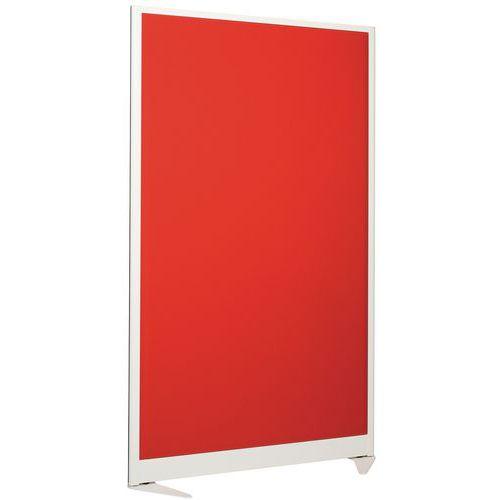 Cloison séparation acoustique 170x100 cm - Ossature blanche