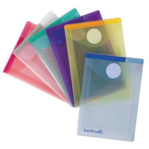 Enveloppe Tcollection COLOR - Format A7 portrait - Coloris assortis