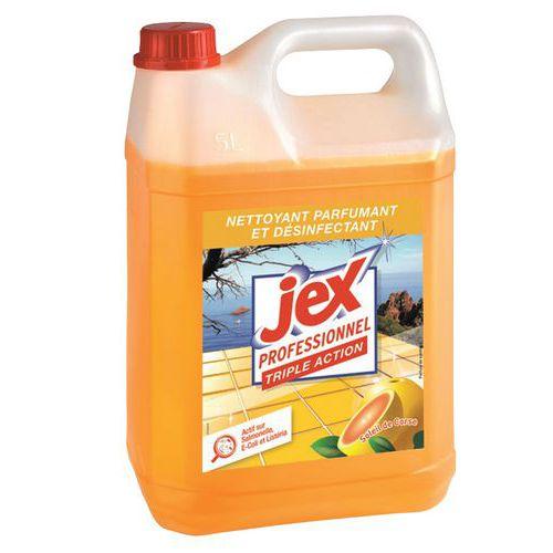 Nettoyant désinfectant Triple action Jex Pro- Bidon 5 L