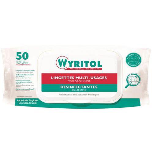 Lingette désinfectante Wyritol Niaouli  - Paquet de 50