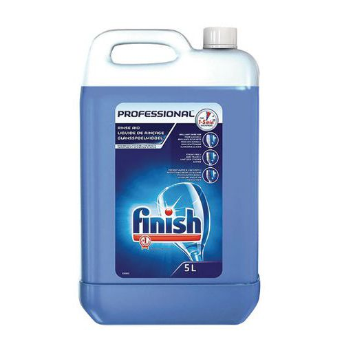 Liquide rinçage extra hygiène Finish Professional - Bidon 5 L