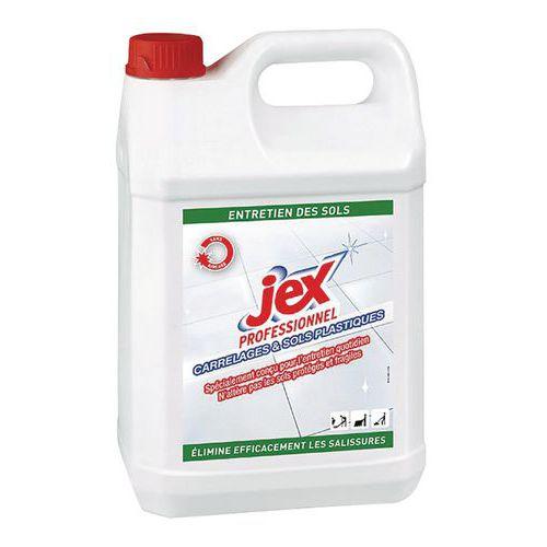 Nettoyant carrelage sol plastique Jex Professionnel - Bidon 5 L